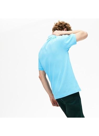 Lacoste Erkek  Tişört L1212.709 Mavi